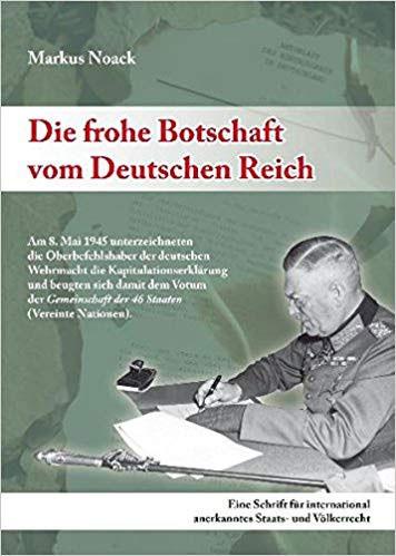 Die frohe Botschaft vom Deutschen Reich