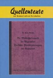 Die Wirklichkeitsmacht der Allgemeinen Deutschen Glaubensbewegung der Gegenwart