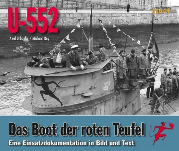 U-552. Das Boot der roten Teufel