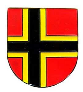 """Anstecker """"Wappen Deutscher Widerstand"""""""