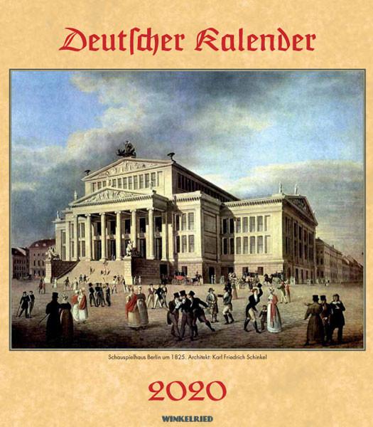 Deutscher Kalender 2020