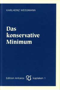Das konservative Minimum