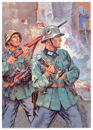 Kampf in Warschau-Vorstadt