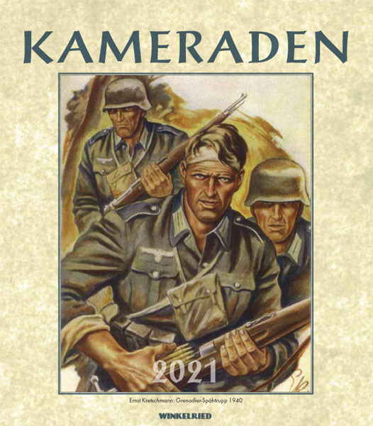Kalender Kameraden 2021 - 50143