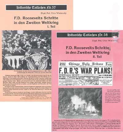 Roosevelts Schritte in den 2. Weltkrieg