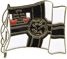 Anstecker Reichskriegsflagge