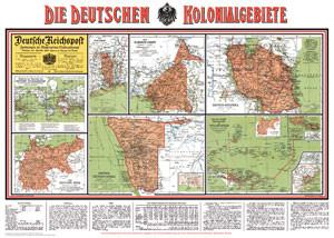 Die deutschen Kolonialgebiete