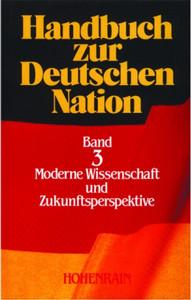 Handbuch zur deutschen Nation - Band 3