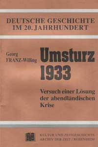 Umsturz 1933