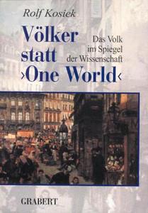 """Völker statt """"One World"""""""