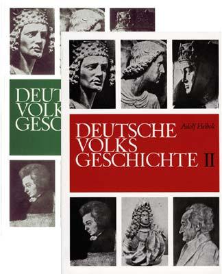 Deutsche Volksgeschichte Bd. 1 und 2